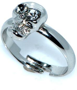 K.D. Rosaries Silver Skull Ring