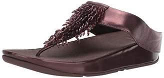 FitFlop Women's Rumba Toe-Thong Sandals Flip-Flop M US