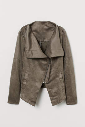 H&M Biker Jacket - Brown