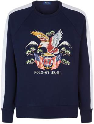 Polo Ralph Lauren Eagle Stripe Sweatshirt