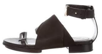 Jason Wu Leather Open-Toe Sandals