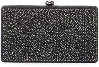 Neiman Marcus Crystal-Embellished Minaudiere Bag