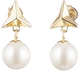 Carolee Triangle Spike Earrings