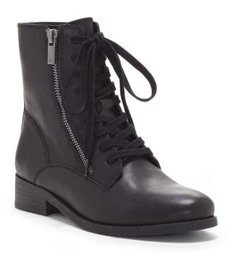 Lucky Brand Hildran Leather Combat Boot