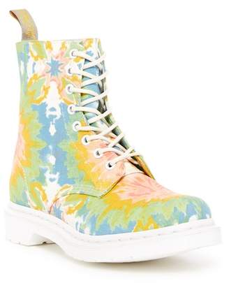 Dr. Martens Page Tie-Dye Canvas Boot