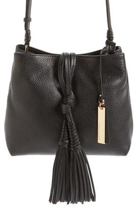 Vince Camuto 'Taro' Crossbody Bag - Black $238 thestylecure.com
