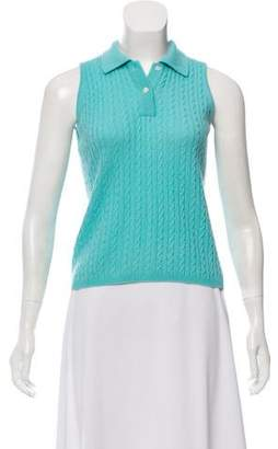 Lilly Pulitzer Cashmere Sleeveless Top