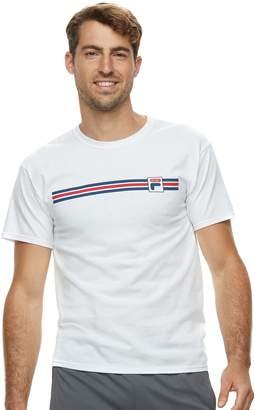 Fila Sport Men's SPORT Stripe Graphic Tee