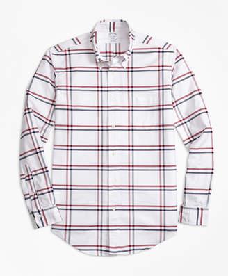 Brooks Brothers Regent Fit Oxford Check Sport Shirt