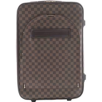Louis Vuitton Pegase leather travel bag