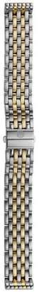 Michele Deco Two-Tone Watch Bracelet, 16mm