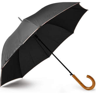 Paul Smith Walker Wood-Handle Umbrella - Black