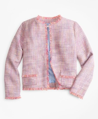 Brooks Brothers Girls Boucle Jacket