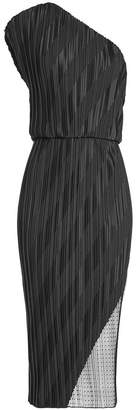 Alexander Wang Asymmetric Pleated Dress
