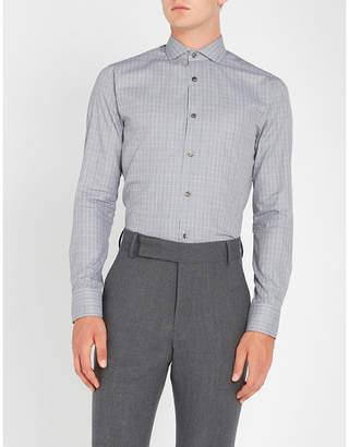 Tiger of Sweden Farrell slim-fit cotton-poplin shirt