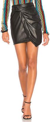 Ella Moss Faux Leather Mini Skirt