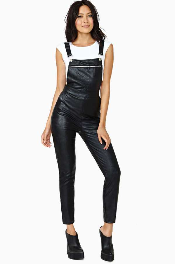 Nasty Gal Push It Overalls