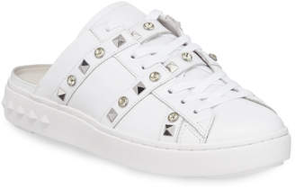 Ash Party Studded Leather Slide Sneakers