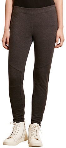 Lauren Ralph Lauren Paneled Stretch Cotton Leggings