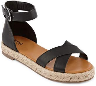 e488e991f727 A.N.A Womens Broome Adjustable Strap Flat Sandals