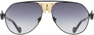 9854ccf486e Neiman Marcus Anna Karin Karlsson Miss Rosell 110th Anniversary Aviator  Sunglasses