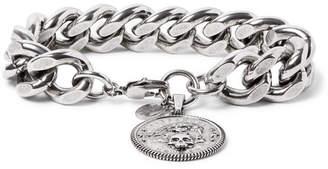 Alexander McQueen Silver-Tone Chain Bracelet