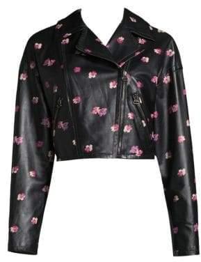 Rebecca Taylor Floriana Leather Jacket