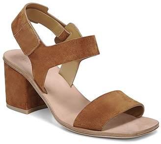 3af4096a616 Via Spiga Women s Kamille Suede Block Heel Ankle Strap Sandals