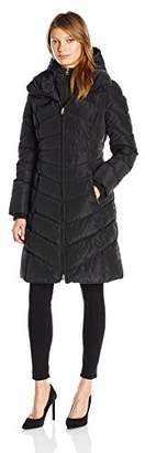 Jessica Simpson Women's Maxi Puffer With Bib
