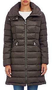Moncler Women's Flammette Hooded Coat - 828 Olive