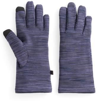Cuddl Duds Women's Faux Fur Lined Flex Fit Tech Gloves