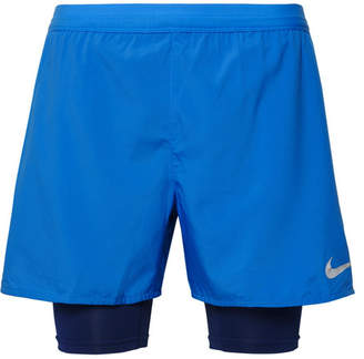 Nike Running Distance 2-In-1 Dri-Fit Shorts