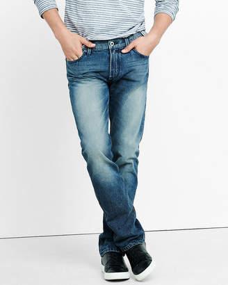 Express Slim Fit Rocco Medium Straight Leg Jean