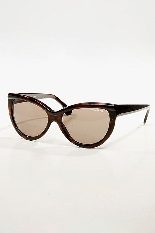 Tom Ford Eyewear Tom Ford Anouk Dark Havana Sunglasses