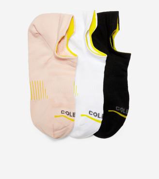 ZERGRAND 3-Pair Liner Socks