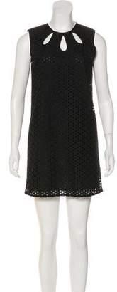 Jenni Kayne Mini Sleeveless Eyelet Dress