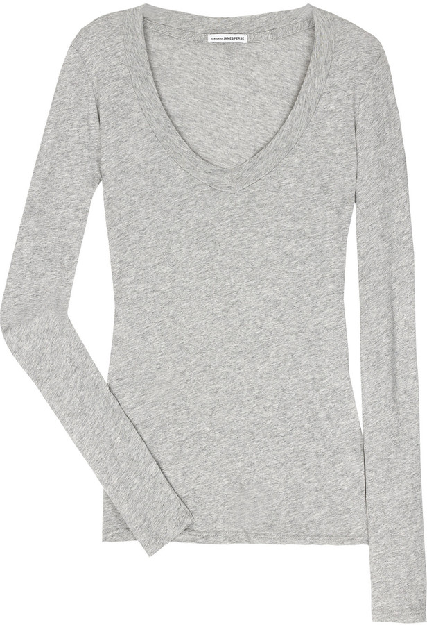 James Perse Loose-fit long-sleeve T-shirt