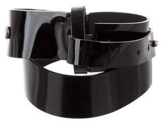 Marni Patent Leather Waist Belt
