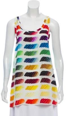 Chanel Silk Colorama Top