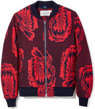 Tory Sport Soho Floral Bomber Jacket