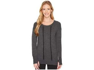 Blanc Noir Pointelle Sweater Women's Sweater