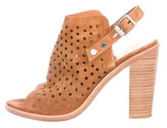 Rag & Bone Perforated Suede Sandals