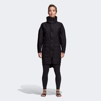 adidas (アディダス) - [WANDERLUST] ウーブン ロング ジャケット