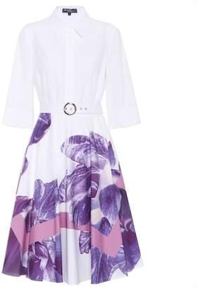 Salvatore Ferragamo Floral-printed cotton dress