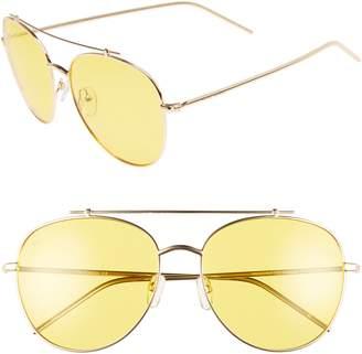 Privé Revaux The Einstein 58mm Polarized Aviator Sunglasses