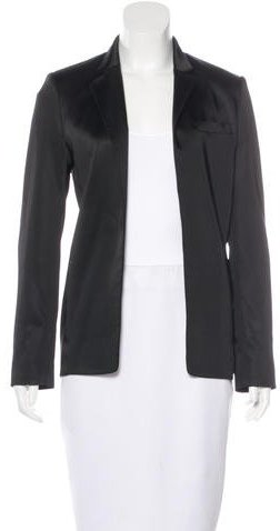 Alexander Wang T by Alexander Wang Long Sleeve Satin Blazer