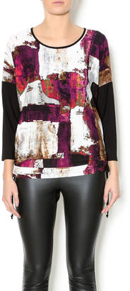 Bali Purple Multicolor Top