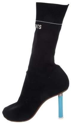 Vetements Knit Sock Boots