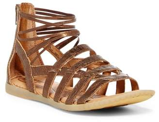 Børn Angeles Strappy Leather Sandal