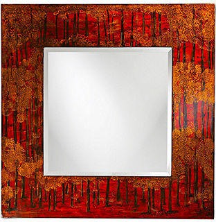 "Howard Elliott ""Mia"" Mirror 39x39"
